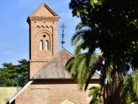 Kirche auf der Missionsstation Monte Cassino