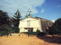 Kirche auf der Missionsstation St. Luke's